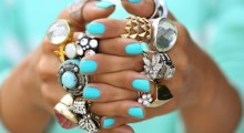 1 Of My Favorite Trends, Ring Stacking