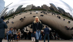 the bean, Chicago,lifestyle blog for women, foreverjanet